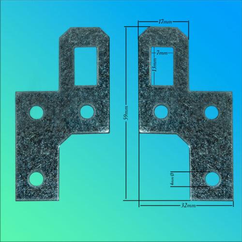 Aufhänger Schrankaufhänger Bilderaufhänger  Metall verzinkt  Schrankhalter