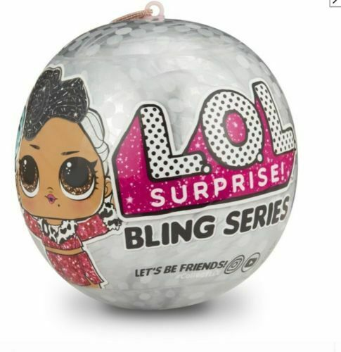 LOL Surprise Bling Holiday Series Glam Glitter 7 Surprises in 1 Authentic
