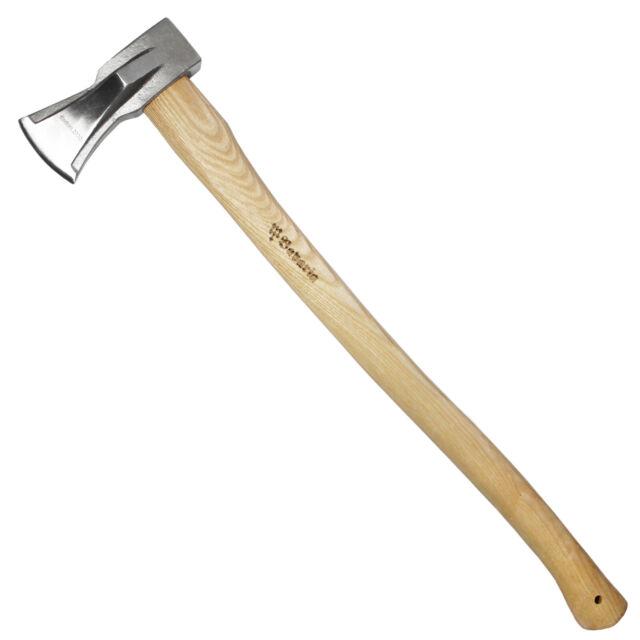 Axt Holzaxt Spaltaxt Spaltbeil Spalthammer Forstaxt 2kg Eschenstiel 74cm
