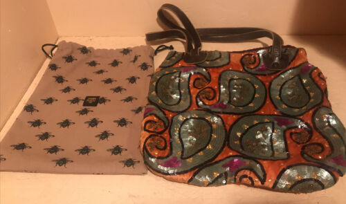 Jamin Puech Beaded Bag With Bumble Bee Dust Bag