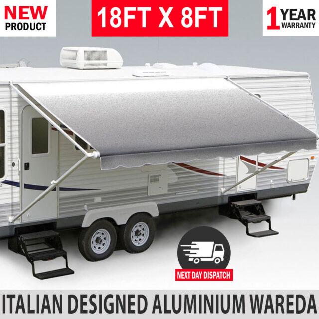 Pinnacle 88987 Caravan Awning Roll Out Aluminium Wareda ...