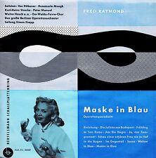 *-Vinyl-Schallplatte- MASKE in BLAU - Fred RAYMOND, Ilse HÜBENER