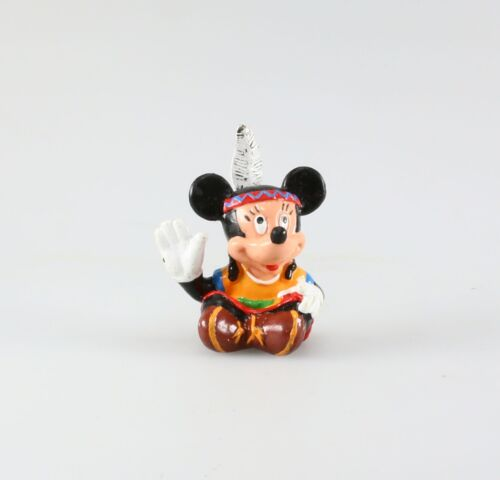 Disney Bully Figurine plastique Mickey Mouse Minnie indienne