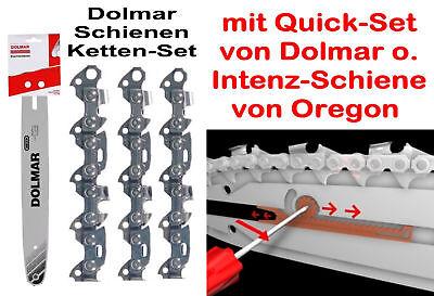 40cm SWS Forst Schwert Set,4 Sägeketten 3//8 56TG 1,3 mm p.f Dolmar PS-45