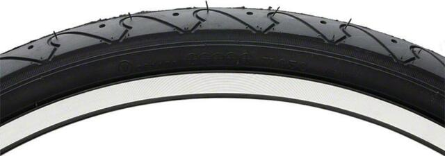 Vee Rubber Smooth Road Tire for Bicycle-700x23-Clincher-Steel Bead-Black-New