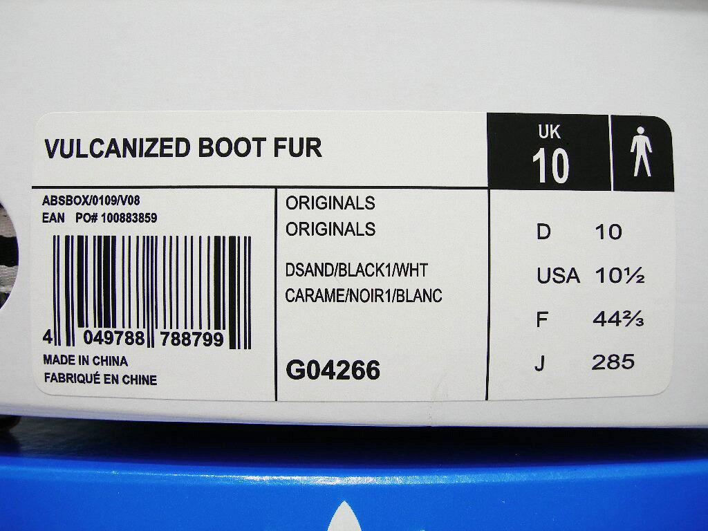 2009 ADIDAS KAZUKI FUR VULCANIZED BOOT FUR KAZUKI LEOPARD10 US10,5 y3 G04266 mastermind 78ccf2