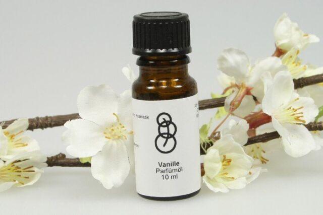 Vanille Aromaöl Duftöl zur Wohnraumbeduftung 10 ml in Braunglasflasche