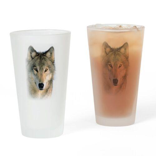 16 oz. 554117594 CafePress Wolf Pint Glass Pint Glass Drinking Glass