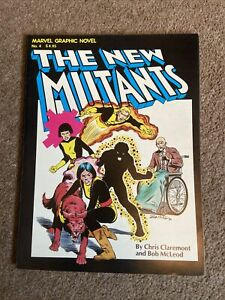 The New Mutants (1982) 1st Appearance Paperback 1st Edition Marvel GN