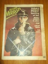RECORD MIRROR JANUARY 28 1979 JUDAS PRIEST ROCKY SHARPE CHIC CHEAP TRICK DOLL