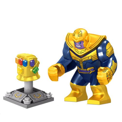 2019 Perfect gift Marvel Thanos Gauntlet Mini Figures Building Blocks Fit lego