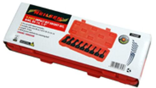 "9 Pce Impact RIBE bit Socket Set  R5 R6 R7 R8 R9 R10 R12 R13 R14 1//2/"" drive"
