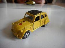 Corgi Citroen 2cv6 in Yellow