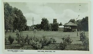 SWAN-HILL-THE-PARK-VICTORIA-ROSE-SERIES-P-10972-VINTAGE-POSTCARD