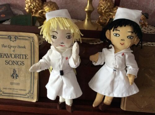 Nurse Doll//gift//handmade 11 In// Various Colors//outfits  Soft Ragdolls