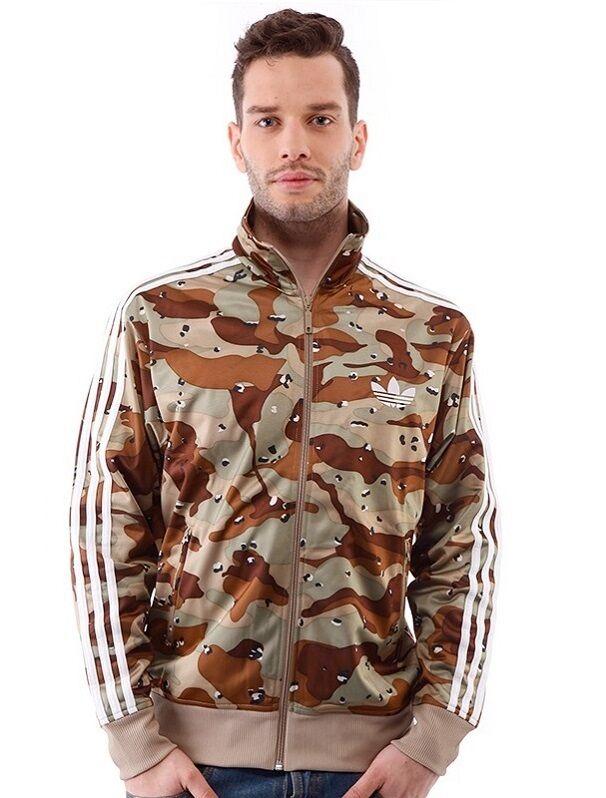 New Adidas Originals Camo Army Track jacke schweißer hoodie Camouflage Z32733