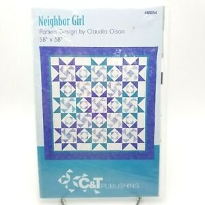 Quilt-Block-Pattern-Geometric-Next-Door-Neighbor-Diamond-Girl-58-x-58-inch