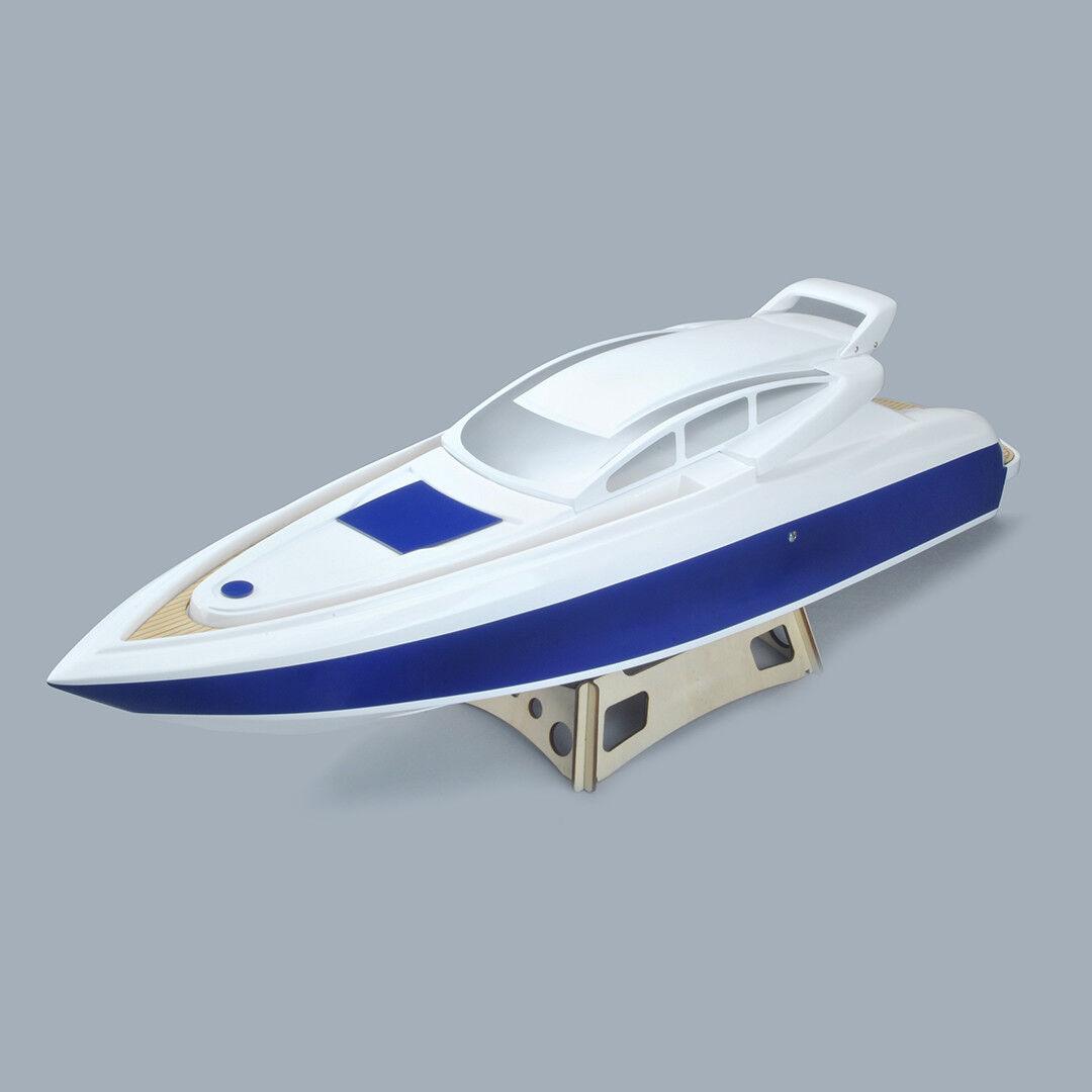 94cm Epoxy Fiberglass Princess Scale Cruiser ARR Boat Hull Hardware Installed