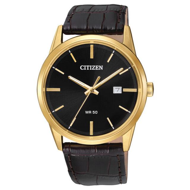 Citizen BI5002-06E New Quartz Black Dial Wrist Men's Watch