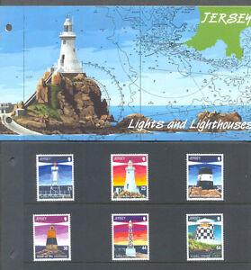 Jersey-Lighthouses 1999 mnh set & Presentation pack