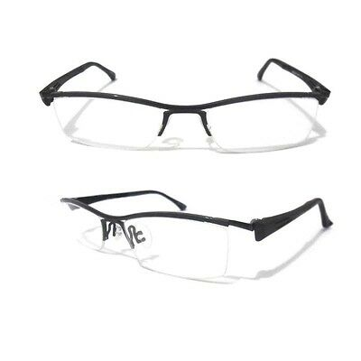 NEW LUXURY TR90 sport glasses HALF RIM optical frames EYEGLASS FRAMES Black