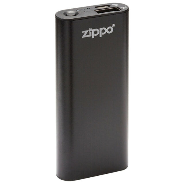 Zippo Heatbank 3 Rechargeable Lithium Iron Hand Warmer with Power Pack