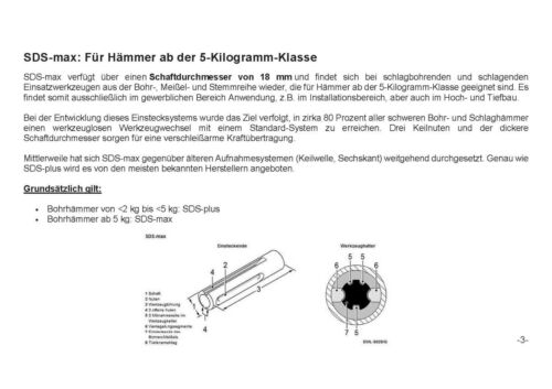 X Kreuzschneide 14-45 mm SDS MAX Hammerbohrer Betonbohrer Steinbohrer Quadro
