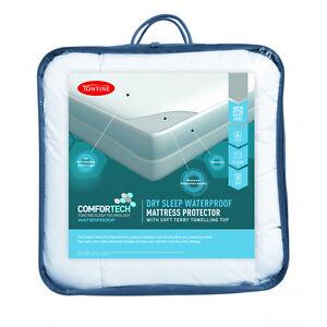 Tontine-Comfortech-Dry-Sleep-Waterproof-Mattress-Protector-All-Sizes