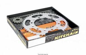 Kit-Chaine-O-039-ring-Couronne-Pignon-Chaine-Suzuki-650-Bandit-2009-a-2015-15X48