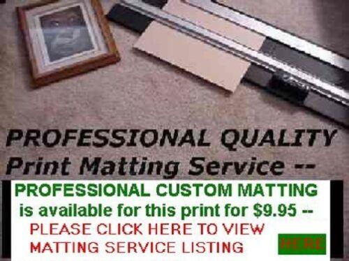 PROFESSIONAL ART PRINT MATTING SERVICE 11x14 matting For Photos /& Art Prints