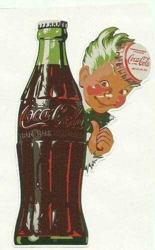 """VINYL STICKER SODA COKE VINTAGE RETRO /""""COCA COLA SPRITE BOY/"""" Decal"""