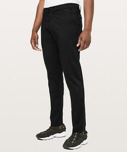 c5c5b8617a0 NWT Lululemon Men Commission Pant Classic Cotton 34