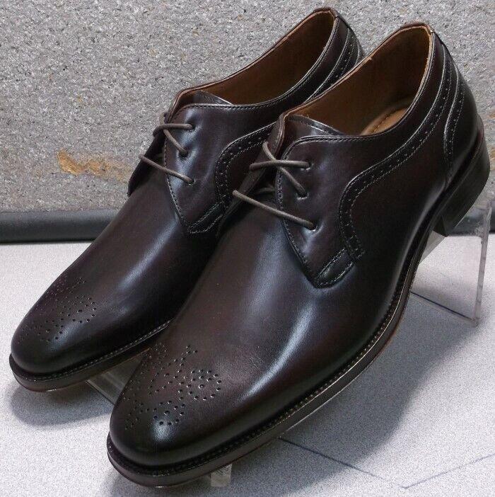151761 ES50 Chaussures Hommes Taille 8 M En Cuir Marron à Lacets Ups Johnston & Murphy