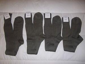 Chaussettes mi-bas kaki HIVER de l/'Armée Française Pointure 42//44 NEUVE
