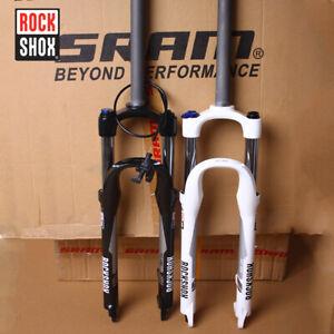RockShox-Remote-Crown-Lockout-26-27-5-Suspension-Fork-Rebound-Disc-MTB-Bike-Fork