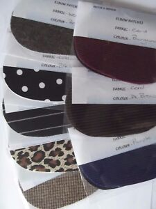 NEW-TODDLER-CLOTHING-OVAL-ELBOW-PATCHES-TRIMMINGS-ASSORTED-COLOURS
