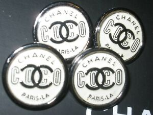 CHANEL-4-BUTTONS-coco-20mm-3-4-inch-metal-with-cc-logo-4