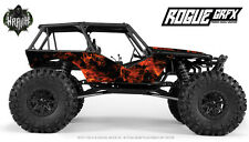 Axial Wraith Graphic Wrap- Natural Flames