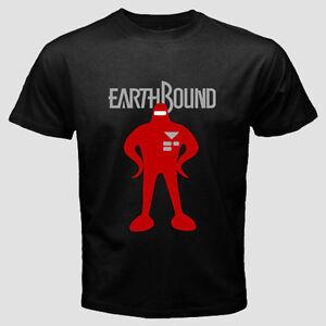 Details about Earthbound Mother 2 Games Nintendo SNES 3DS Wii U Men Black  Shirt Tee T-Shirt