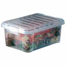 Araven Food Storage Box With Lid Made Of Clear Plastic 380x265x230mm 14l
