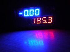 3 12 Dc6 24v Bluered Led Dc Voltmeter Amp Auto Panel Meter Shunt 200v 50a