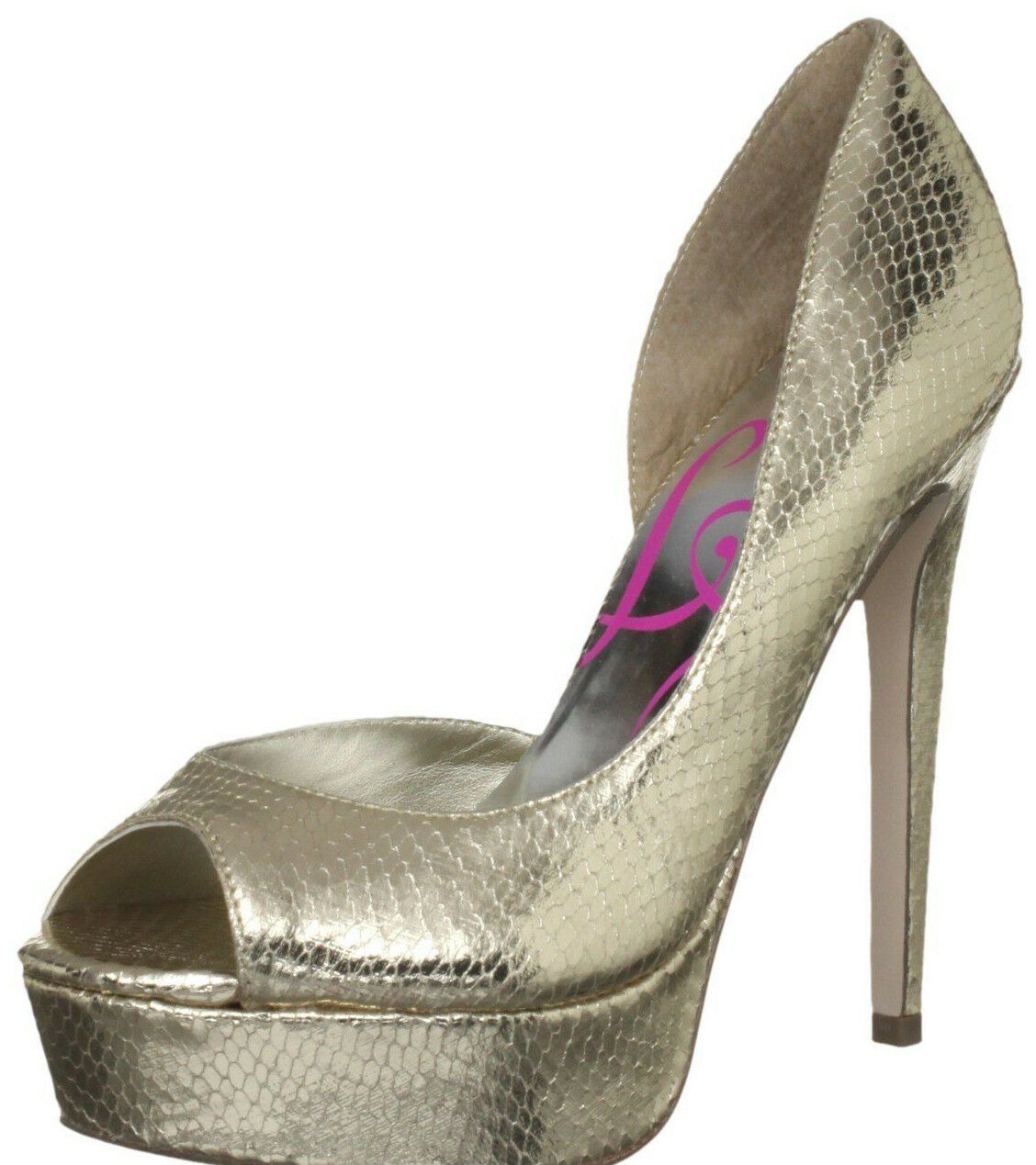 BNIB RRP  LIPSY SIZE 3 4 5 6 7 gold METALLIC JAYLEE HIGH HEEL PLATFORM SHOES