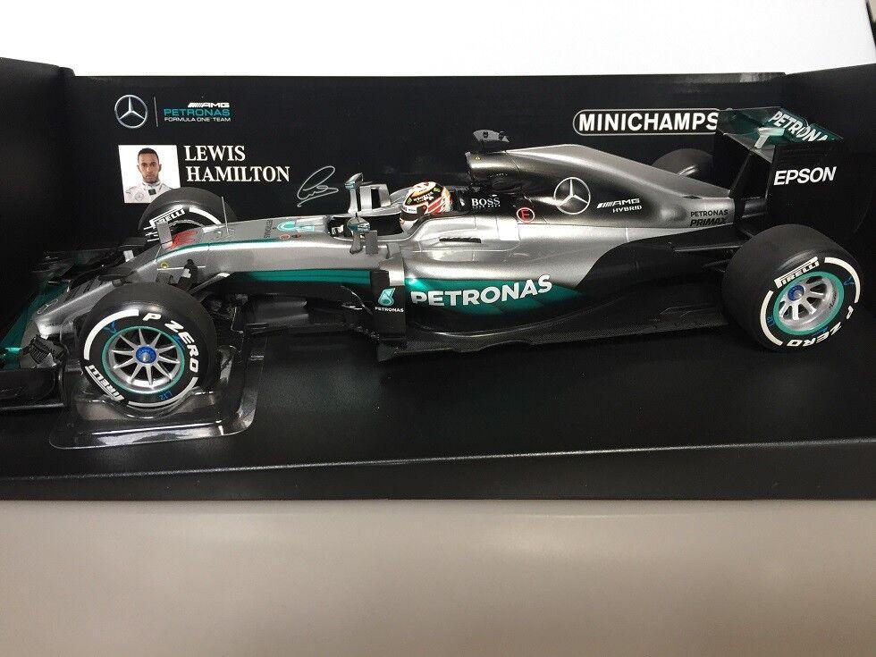 Mercedes amg petronas f1 team 18 formel - 1 - w07 lewis hamilton 2016 minichamps