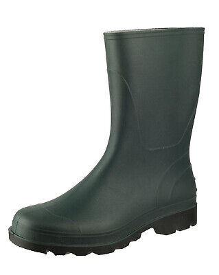 776b9a8af44 WOMENS COTSWOLD FROME GREEN ANKLE GARDEN WELLIES WELLINGTON CALF RAIN BOOTS  | eBay