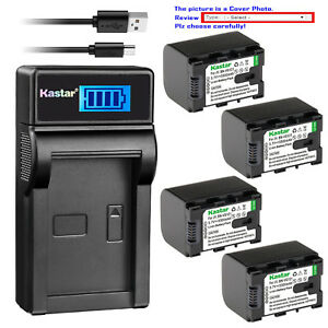 Kastar-Battery-LCD-Charger-for-JVC-BN-VG121U-JVC-Everio-GZ-HM980-Everio-GZ-HM990
