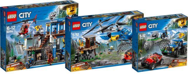 LEGO City Hauptquartier der Bergpolizei 60174 günstig kaufen