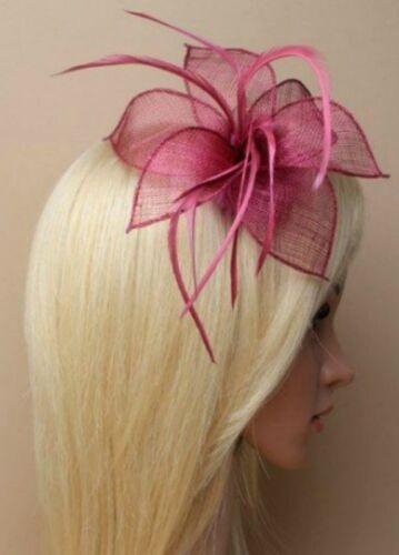 Beak Clip Mesh Feather Fascinator Ladies Day Royal Ascot Fascinator Hair Piece 9