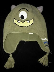 32a2eb686aa boys size medium HANNA ANDERSSON ONE EYE MONSTER KNIT WINTER HAT ...