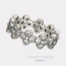 6bd7634bf Authentic Pandora Sterling Silver Oriental Blossom CZ Ring 191000CZ-48 (4.5)