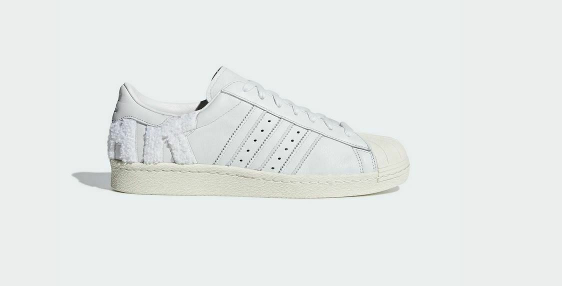Adidas Superstar 80s schuhe Turnschuhe with the Super Star on the back Gr. 36